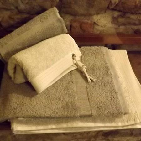 Asciugamano grigio scuro
